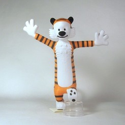 Download free 3D printer designs Hobbes, reddadsteve