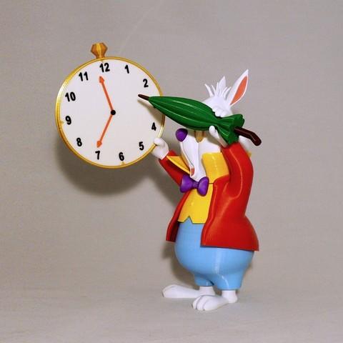 angle1.jpg Download free STL file White Rabbit • 3D printer model, reddadsteve