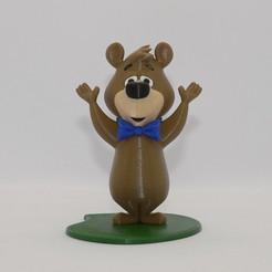 booboo front base1.jpg Download free STL file Boo-Boo Bear • 3D printer template, reddadsteve