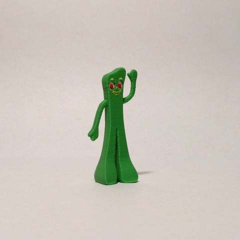 Download free 3D printing templates Gumby - MMU, reddadsteve