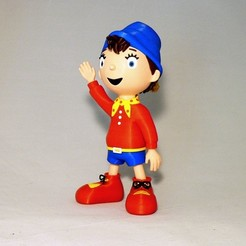 Free 3D print files Noddy, reddadsteve