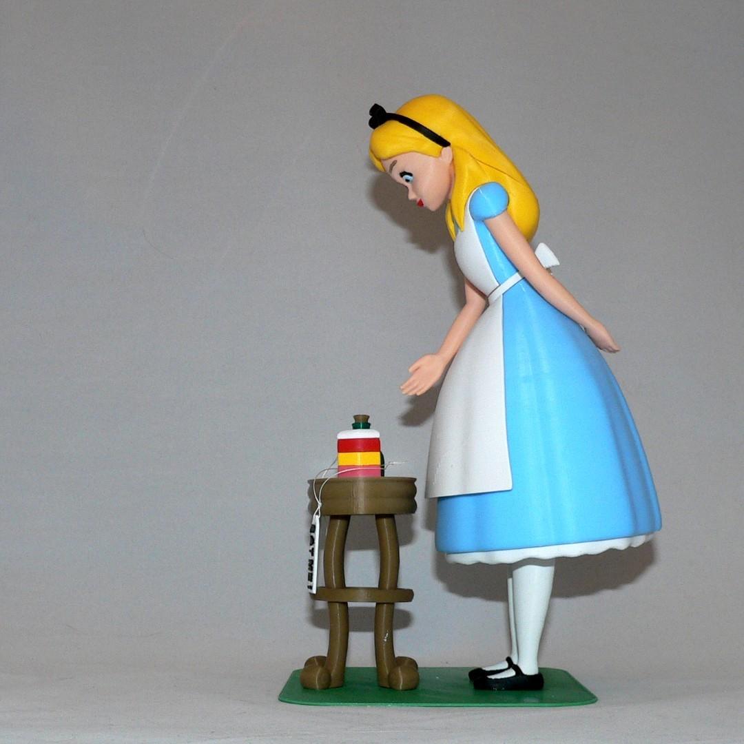 sidea1.jpg Download free STL file Alice • 3D printable object, reddadsteve