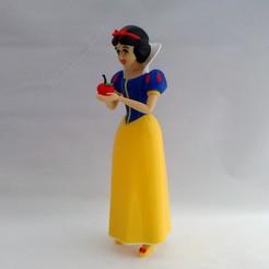 snow white angle1.jpg Download free STL file Snow White • 3D printable design, reddadsteve