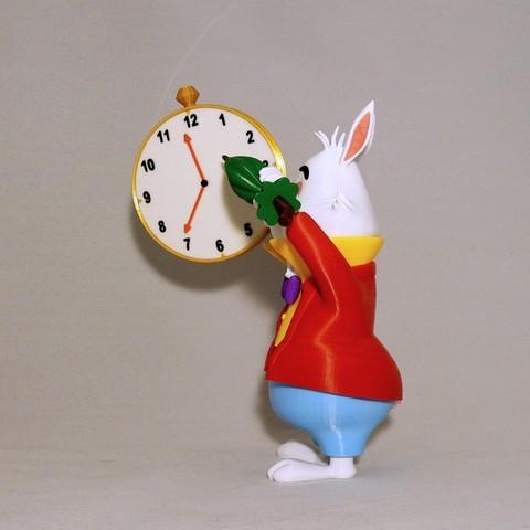 sidea1.jpg Download free STL file White Rabbit • 3D printer model, reddadsteve