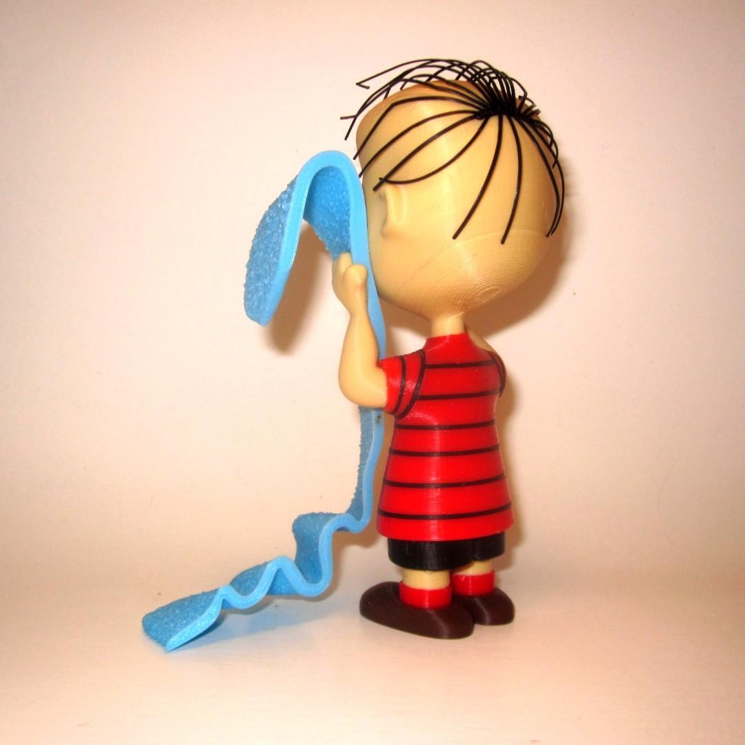 linus back1.jpg Download free STL file Linus van Pelt • 3D printing object, reddadsteve