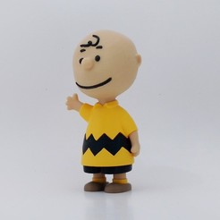 Download free STL file Charlie Brown • 3D printable design, reddadsteve
