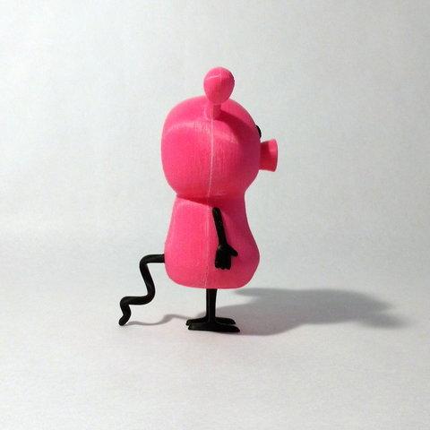pig side1.jpg Download free STL file Pig • 3D printable design, reddadsteve