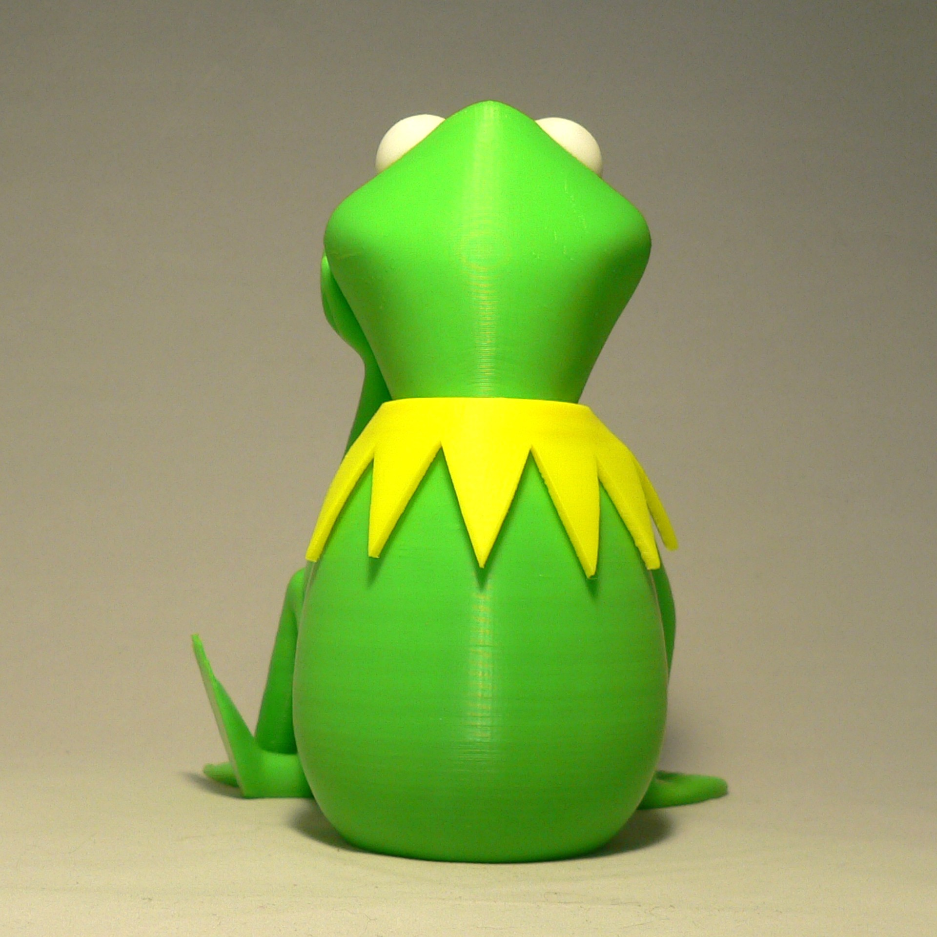 kermit back1.jpg Download free STL file Kermit the Frog • 3D printable model, reddadsteve