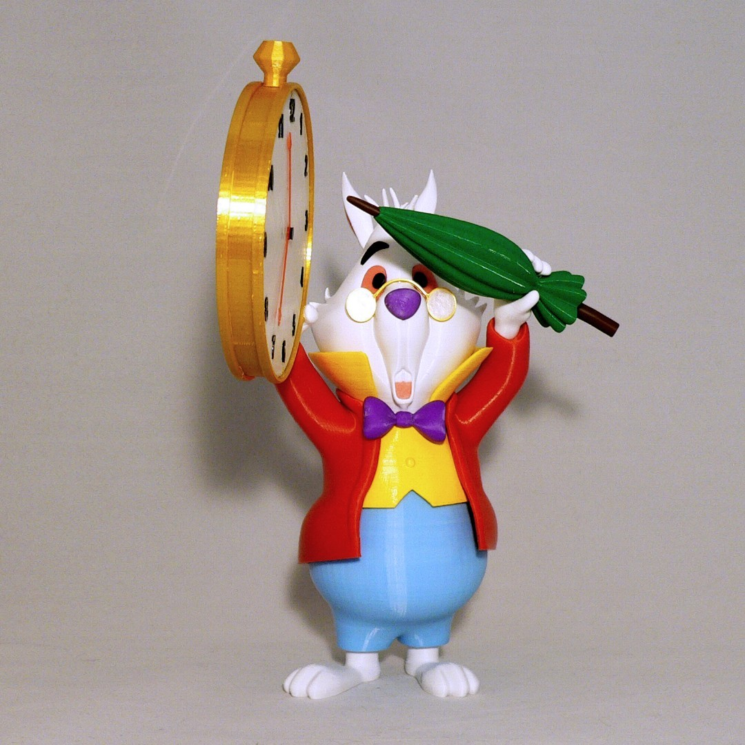 front1.jpg Download free STL file White Rabbit • 3D printer model, reddadsteve