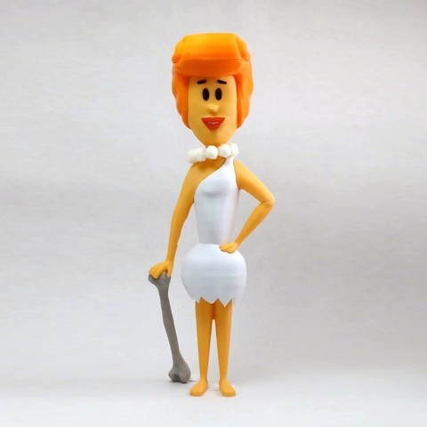 Free 3D printer model Wilma, reddadsteve