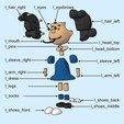 Télécharger fichier impression 3D gratuit Lucy van Pelt, reddadsteve