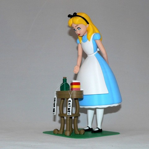 Free 3D print files Alice, reddadsteve
