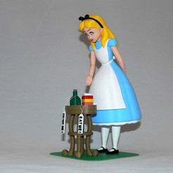 Download free 3D printer model Alice, reddadsteve