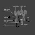 Free 3d printer designs Rat, reddadsteve