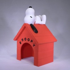 Download free 3D printer files Snoopy, reddadsteve