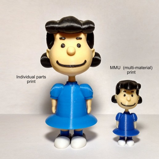 Descargar archivos 3D gratis Lucy Van Pelt - MMU, reddadsteve