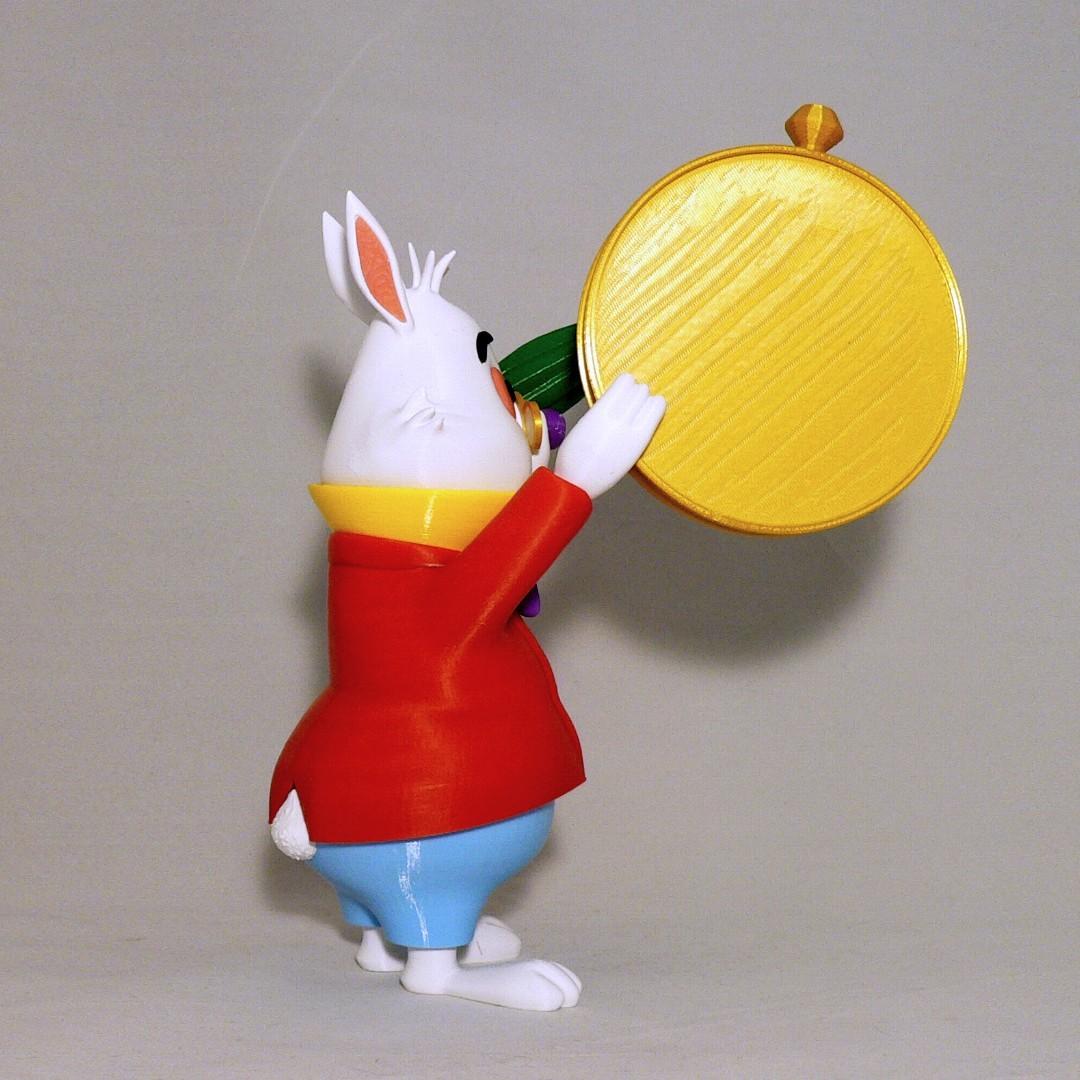 sideb1.jpg Download free STL file White Rabbit • 3D printer model, reddadsteve