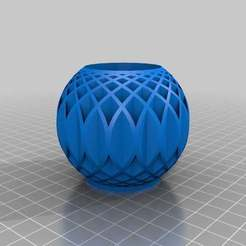 TestRadials_FullSphere.jpg Download free STL file Vase from radial tubes • Object to 3D print, Tinkerology