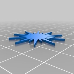 StarOrnament.jpg Télécharger fichier SCAD gratuit Décoration étoilée et garniture pour le sapin de Noël • Modèle pour impression 3D, Tinkerology