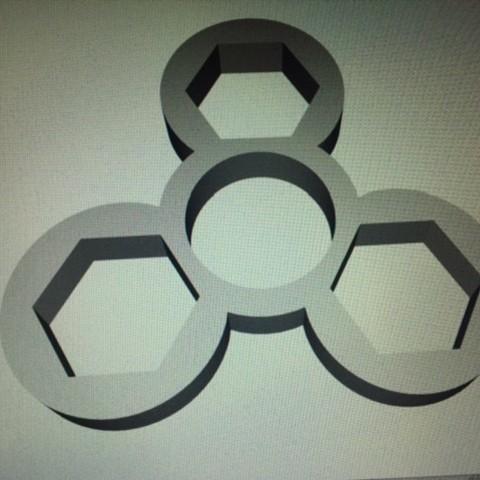 Download free STL file Hand Spinner • 3D printer design, Fabien_3D