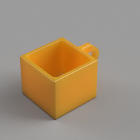 Download STL file Cubic Cup • Template to 3D print, PaoloGar