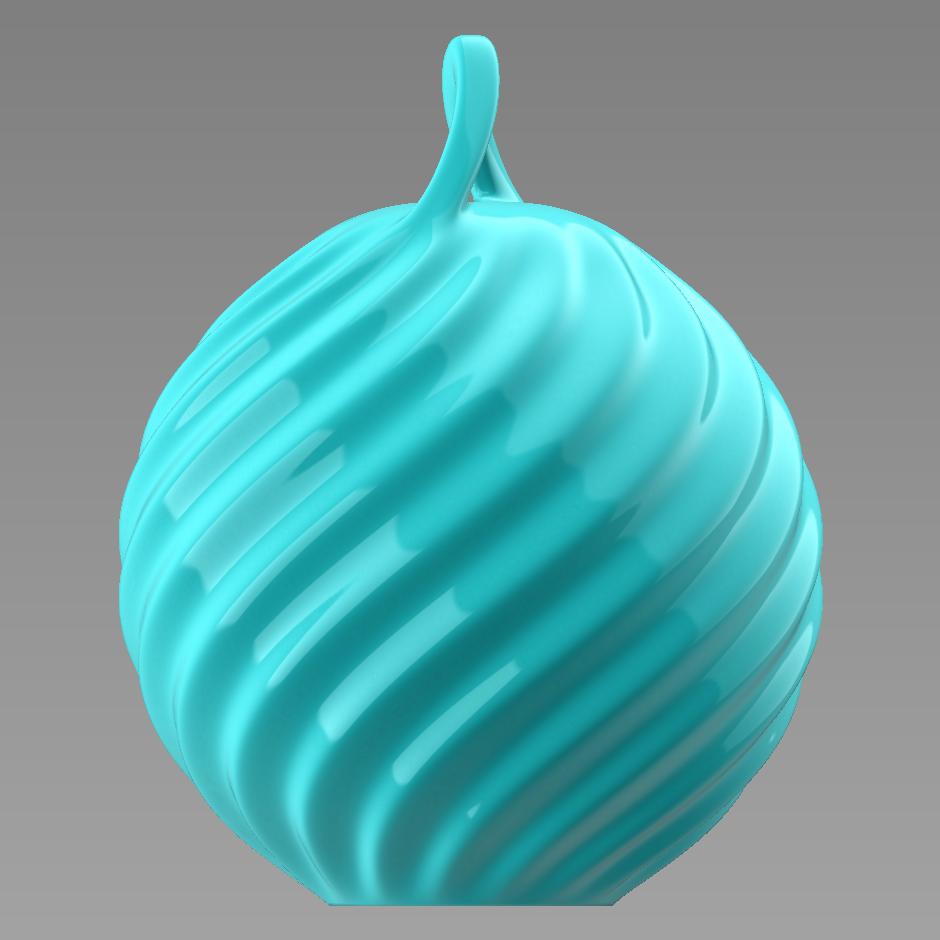 3 - Copy.PNG Télécharger fichier STL gratuit Boule de Noël - personnalisez et imprimez la vôtre • Objet pour impression 3D, Valdis