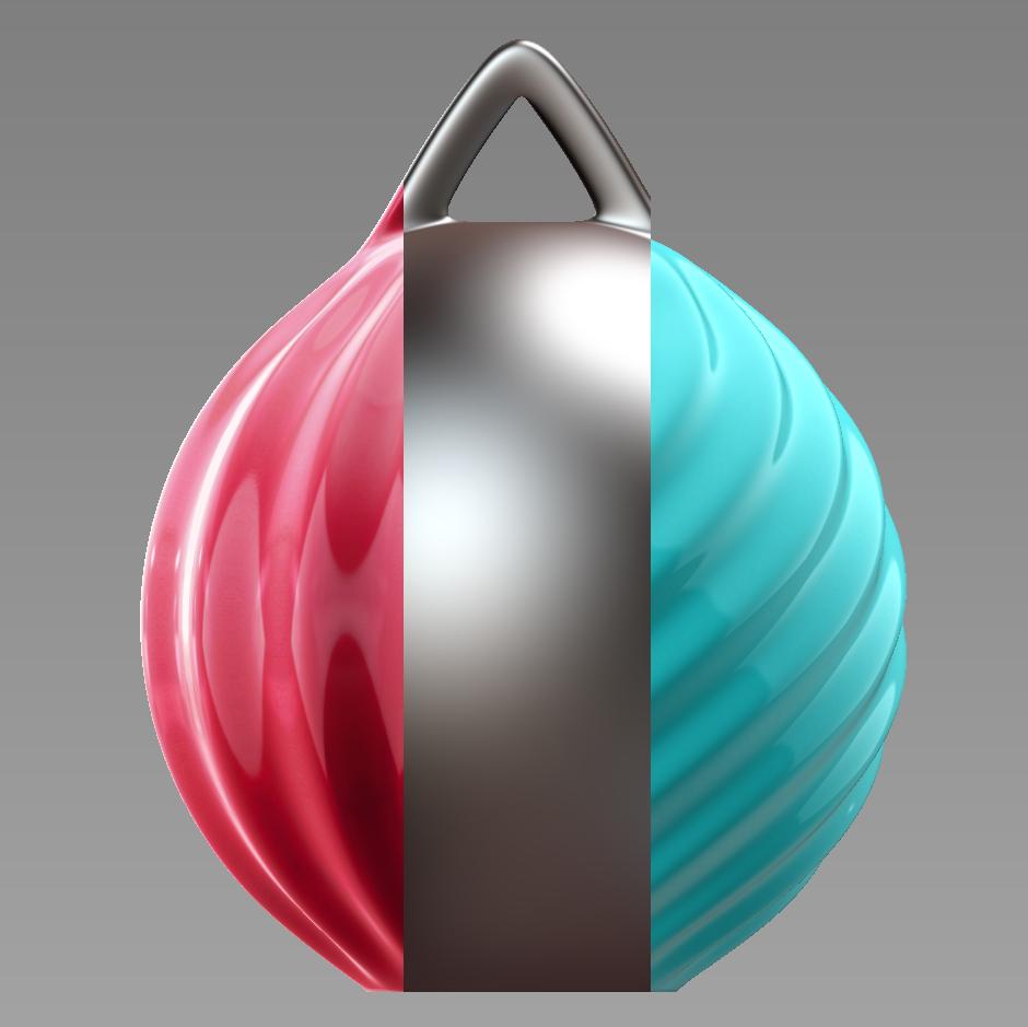 0 - Copy.png Télécharger fichier STL gratuit Boule de Noël - personnalisez et imprimez la vôtre • Objet pour impression 3D, Valdis