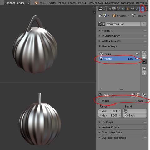 Ridges1.PNG Télécharger fichier STL gratuit Boule de Noël - personnalisez et imprimez la vôtre • Objet pour impression 3D, Valdis