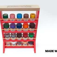 Download free STL Modular Paint Rack, YuriySklyar