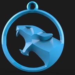 Download 3D printer model cougar keychain 1, Majs84