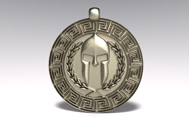Ancient greek pendant 3.1.jpg Télécharger fichier STL gratuit Pendentif geek ancien 3 • Plan imprimable en 3D, Majs84