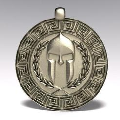 Download free 3D printer designs Ancient geek pendant 3, Majs84