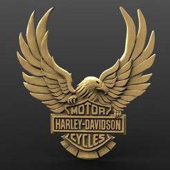 Harley davidson 2.1.jpg Download STL file Harley davidson • 3D printer model, Majs84