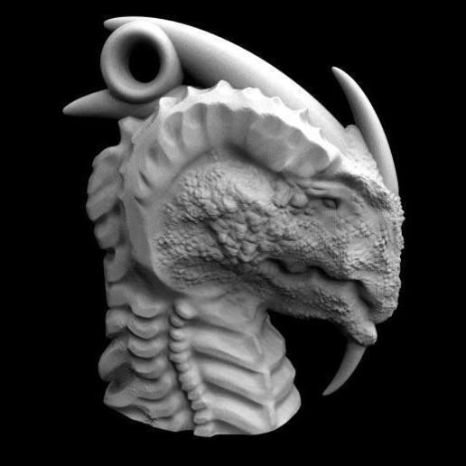 Descargar modelo 3D Llavero dragón 3, Majs84
