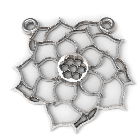 3D print files 2 Flower pendants, Majs84