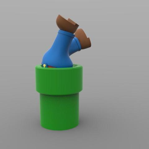 Mario 1.2.jpg Download STL file Mario  • 3D printer object, Majs84