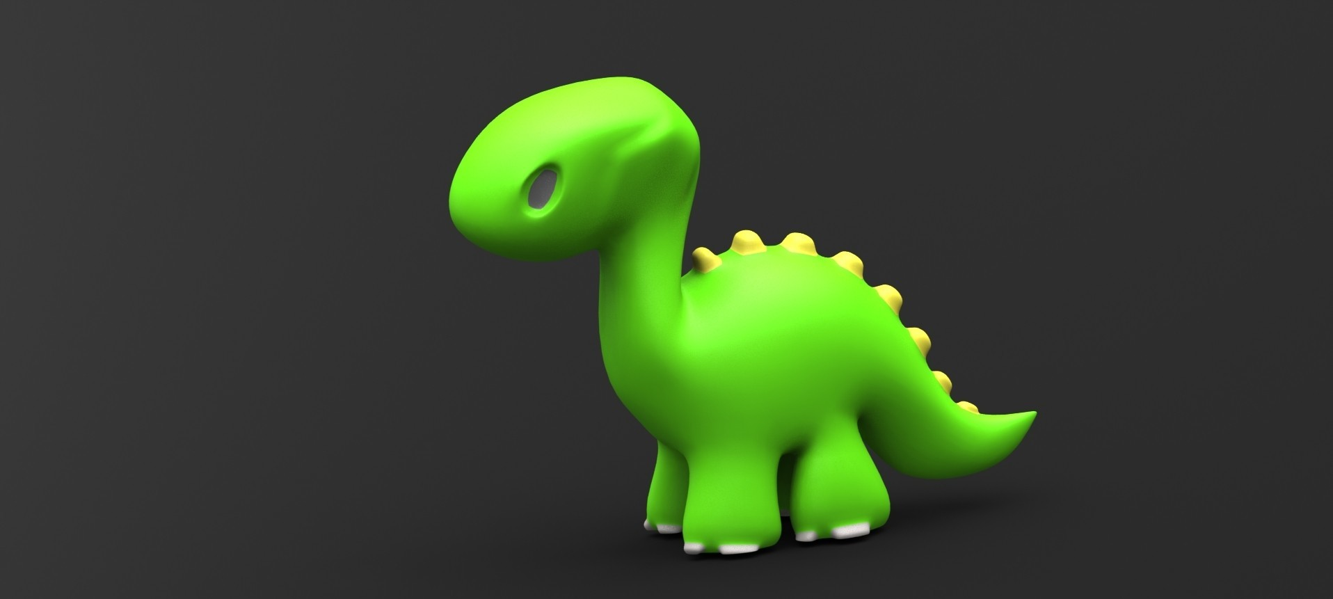 Dino toy 1.2.JPG Download STL file Dino toy • Template to 3D print, Majs84