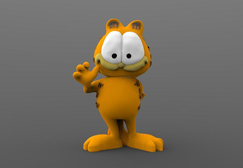 Garfield 1.jpg Download STL file Garfield • 3D printable object, Majs84