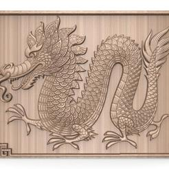 Chinese dragon CNC .1.jpg Download STL file Chinese dragon cnc • 3D print template, Majs84