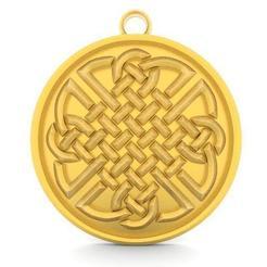 Celtic knot 6.1.jpg Download STL file Celtic knot 6 • 3D printable object, Majs84
