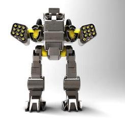 Mech 6.2.jpg Download free STL file Mech 6 • 3D printing design, Majs84