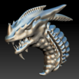 Download STL file Dragon 5 keychain • Model to 3D print, Majs84