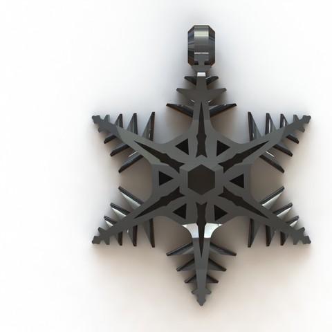 Christmas 1.JPG Download STL file Christmas pendant • 3D print model, Majs84