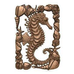 Seahorse cnc .1.jpg Télécharger fichier STL hippocampe CNC • Plan imprimable en 3D, Majs84