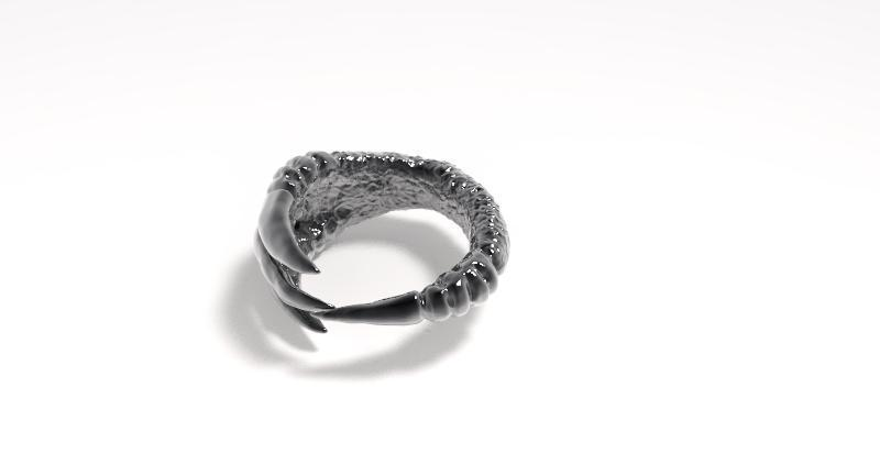 Claw ring 2.jpg Download STL file Claw ring • 3D print object, Majs84