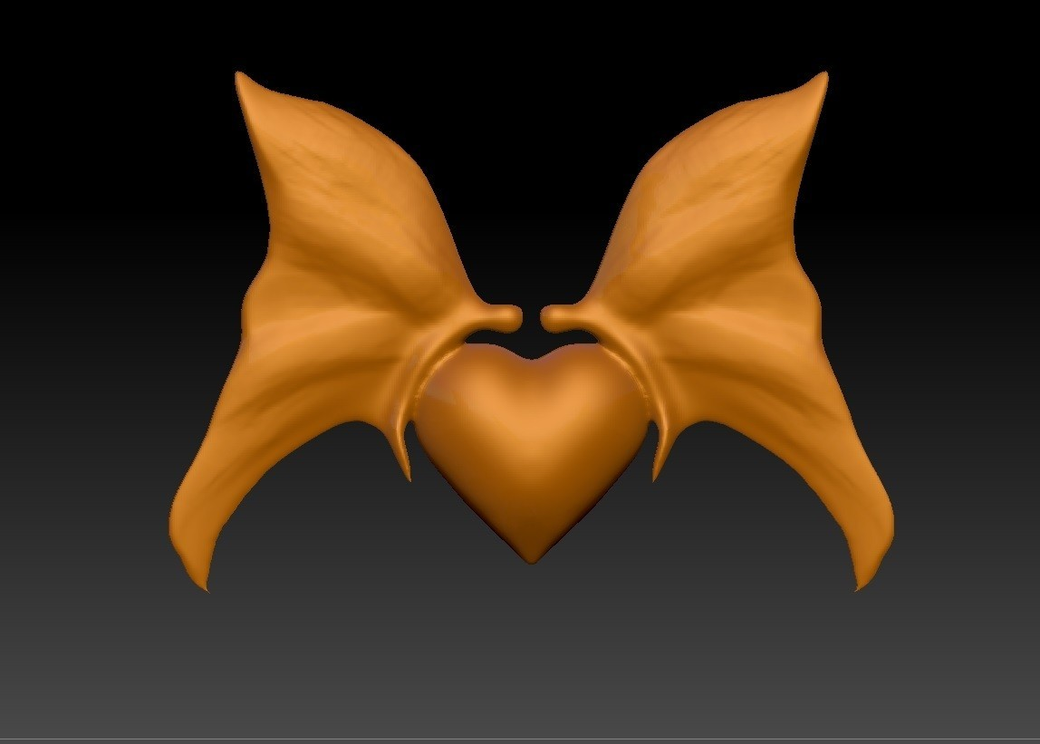 Heart with butterfly pendant.jpg Download STL file Heart with butterfly pendant • Object to 3D print, Majs84