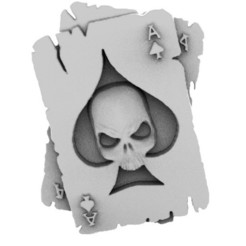 Skull cards 1.1.jpg Download STL file Skull cards • 3D print model, Majs84