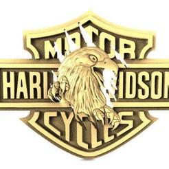 Harley-Davidson eagle 2.1.jpg Download STL file Harley-Davidson eagle 2 • 3D printer design, Majs84