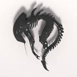 Descargar archivo 3D Alien, Majs84