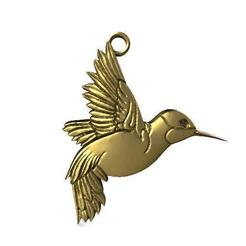 Bird pendant 3.1.jpg Download STL file Bird pendant 3 • 3D printer design, Majs84